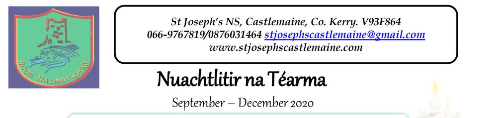 Newsletter September-December 2020